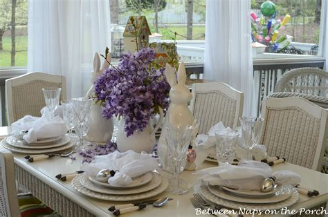 easter table settings easter tablescapes table settings with wisteria and bunny centerpiece and pottery barn bunny plates