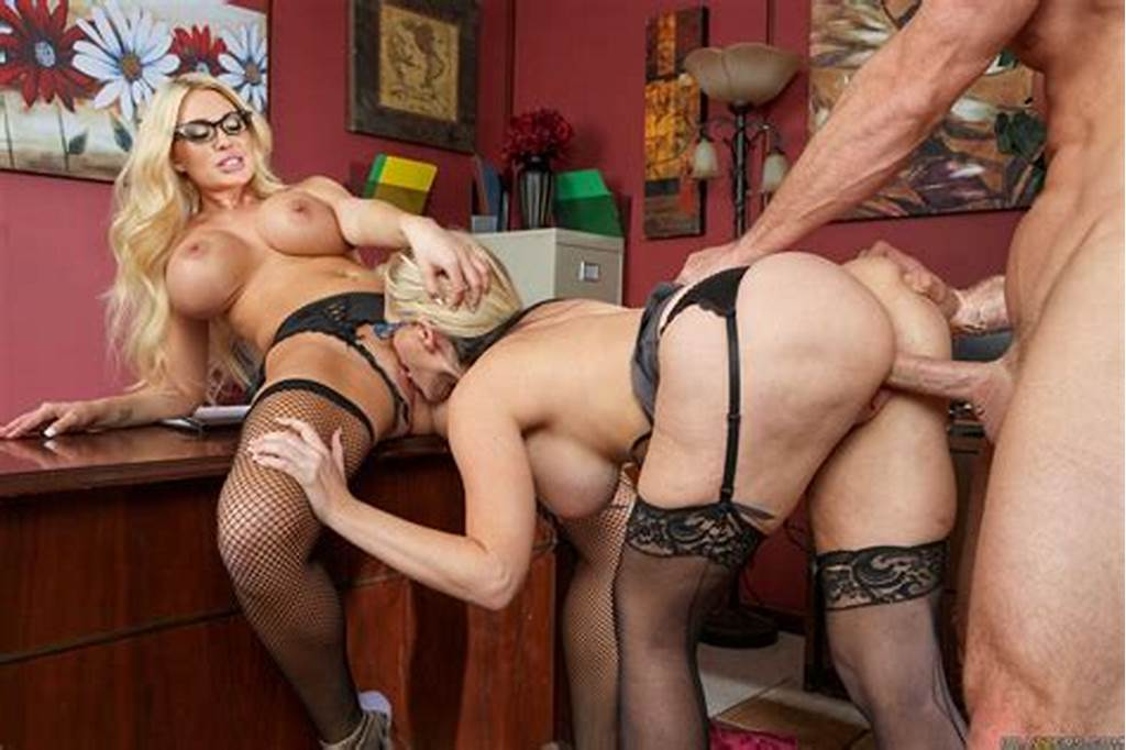 #Alena #Croft #And #Summer #Brielle #Fuck #Their #Boss #At #Work
