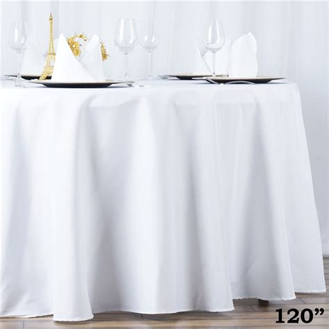 wholesale table linens for weddings 10 120 quot round premium polyester tablecloths wedding party
