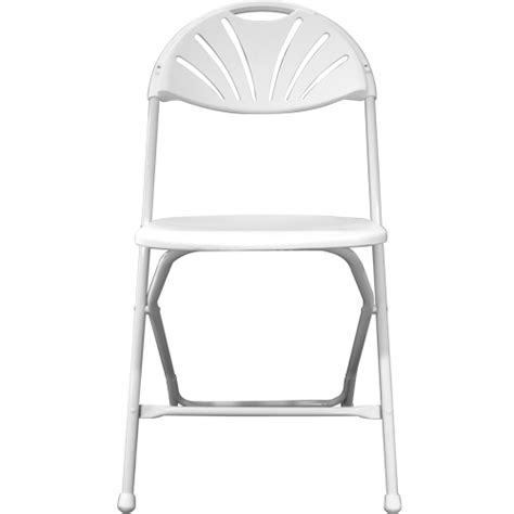 white plastic folding chair indoor only american