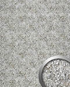 Küchen Wandpaneel Glas : barock wandverkleidung wallface 17267 floral silber grau original wallface silber silbergrau ~ Frokenaadalensverden.com Haus und Dekorationen