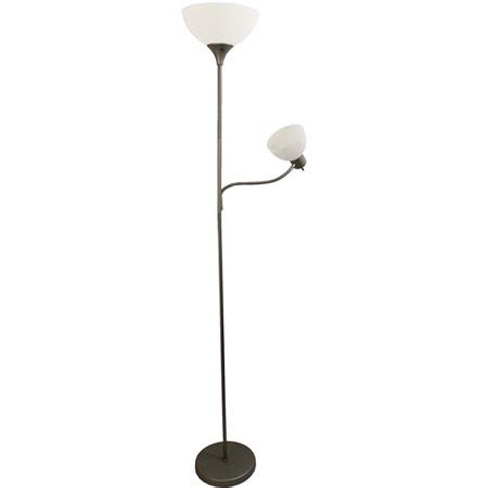 Walmart Reading Light by Simple Designs Floor L With Reading Light Silver