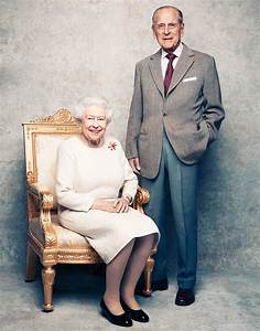 Queen Elizabeth II, Prince Philip Celebrate 70th Wedding ...