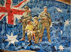 Army Art and Military Artworks by Australian Artist Ian