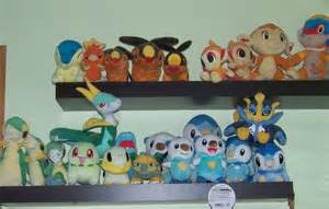 Starter Pokemon Plushies