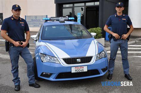 volante polizia la nuova auto in dotazione alla volante della polizia di