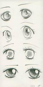 Anime Eyes I by AnhPho on DeviantArt