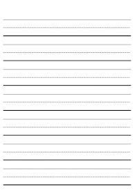 blank writing worksheets letter tracing worksheets