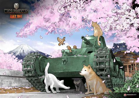 part  chi ni takashi ino tanks world  tanks media