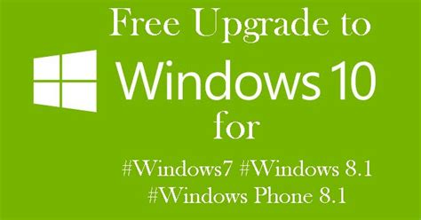 windows 10 official free upgrade to windows 10 for new or existing windows 7 windows 8 1 and
