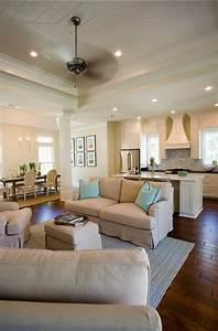 Open, Concept, Kitchen, Living, Room, Design, Ideas