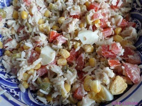 cuisine salade de riz recettes de salade de riz et cuisine facile