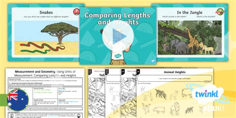 * New * Planit Mathematics Year 1 Measurement And Geometry Using Units Of