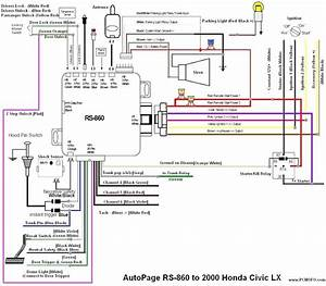 Diagram  98 Honda Civic Engine Wiring Diagram