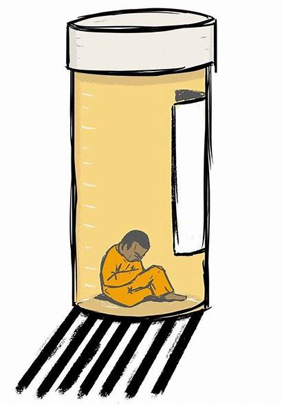 Mental Prison Illness Solitary Devon Davis Illustration