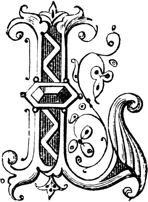fancy alphabet clipart png  cliparts
