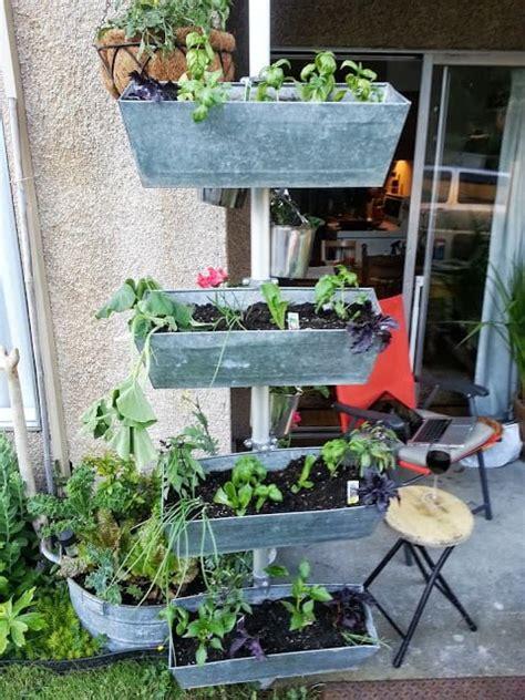 vertical planter  small footprint ikea hackers