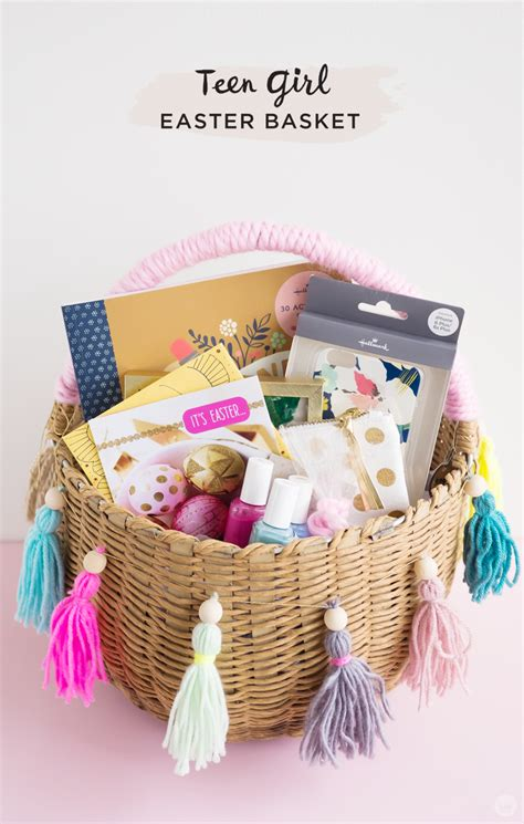 easter baskets ideas easter basket ideas for kids from toddlers to teens