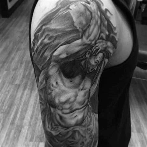 sisyphus tattoo designs  men greek mythology ink ideas