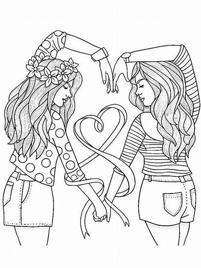 Coloring Teens Pages Printable Adult Mycoloring