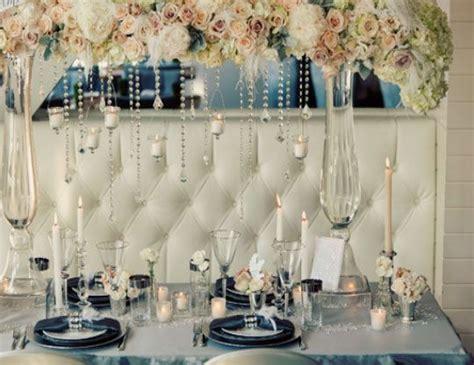 Winter Wedding Ideas Elegant Table Setting Click Pic