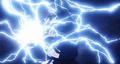 Fighter Gifs Street Anime Ryu Lightening Lightning