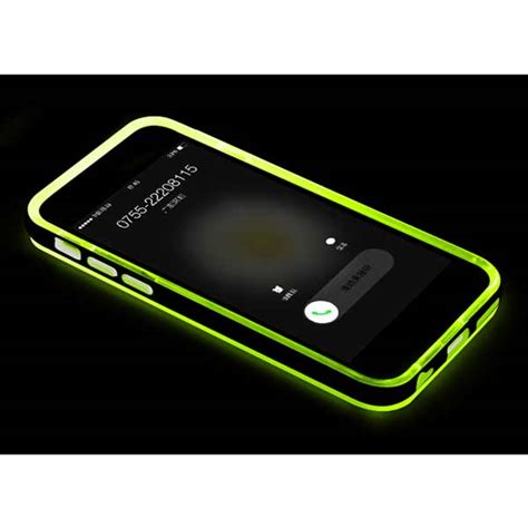 phone call flash light new led flash light up remind incoming call cover case for