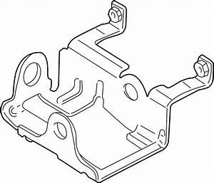 Cadillac Escalade Ext Abs Control Module Bracket  Abs