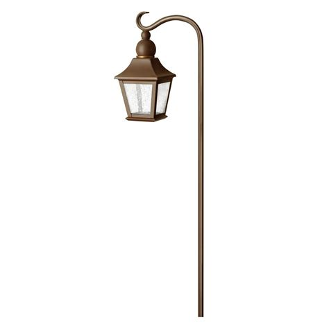 lighting brass constructed low voltage lantern path light
