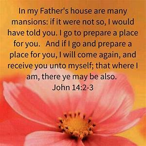 John 14:2-3 KJV | Bible Verses - My Verses | Pinterest ...