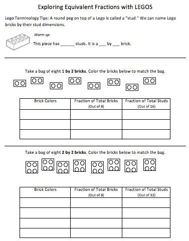 140 Best Images About Math  Fractions On Pinterest  Activities, Student And Math