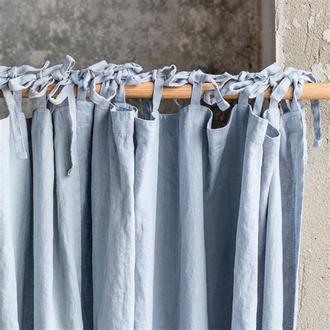 drapes linen bluish grey washed linen curtains linen drapes in bluish