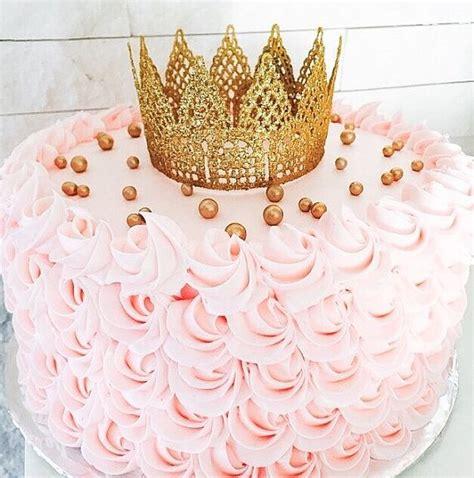 mini lace gold crown crown cake topper princess crown