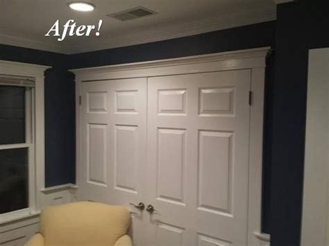 dan s storage room molding makeover the of moldings