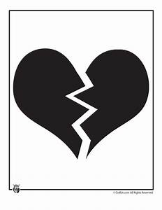 Broken Heart Clipart Black And White Image Quotes At ...