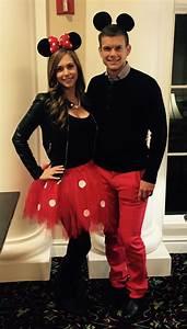 Mickey Mouse Kostüm Selber Machen : minnie and mickey mouse halloween costume halloween pinterest mickey mouse halloween ~ Frokenaadalensverden.com Haus und Dekorationen