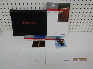 Ebay  Sponsored 2011 Toyota Highlander Owners Manual Set