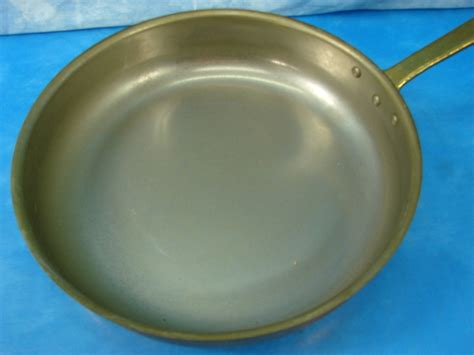 tagus elite copper cookware wbrass handle set   portugal ebay