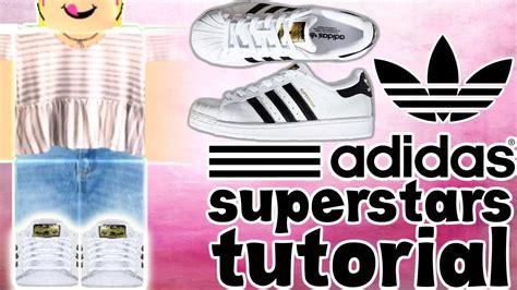 adidas superstars shoe tutorial roblox youtube