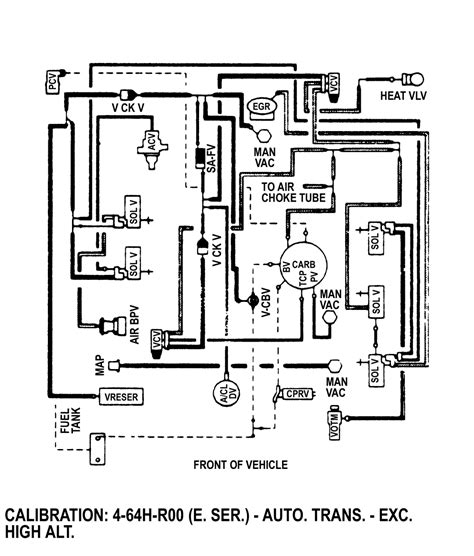4 9 Engine Schematic by Vacuum Diagram 80 96 Ford Bronco 66 96 Ford Broncos
