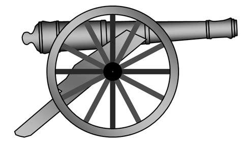 Cannon Clip Canon Clipart Black And White Pencil And In Color Canon