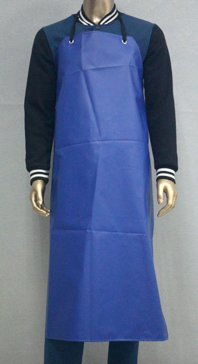 Industrial Kitchen Aprons by Pvc Safety Safety Aprons Industrial Waterproof Blue