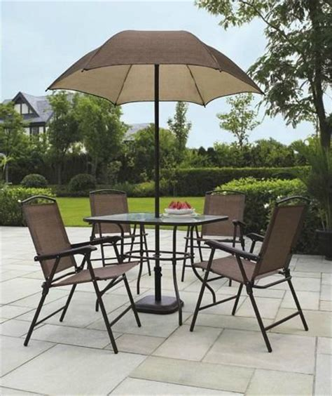 patio dining sets with umbrella sand dune 6 patio dining set with umbrella coconuas28