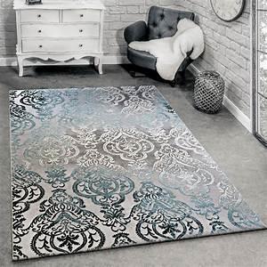 designer teppich moderne ornamente muster With balkon teppich mit ornament tapete barock