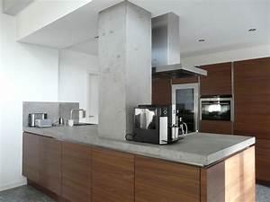 Arbeitsplatte Küche Beton : lifeboxx gmbh beton cire beton cir k chenwand ~ Watch28wear.com Haus und Dekorationen