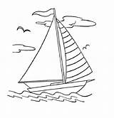 Coloring Boat Pages Sailboat Boats Printable Colouring Yacht Drawing Simple Sheets Outline Bestcoloringpagesforkids Canoe Sketch Clip Template Books Sail Ferry sketch template