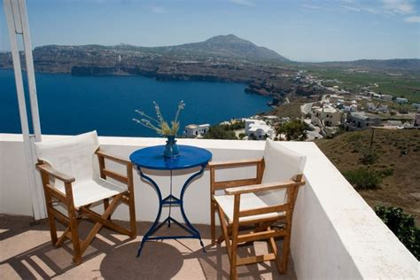 Valentines Day Holiday Santorini Greece Private Balcony