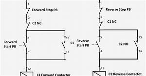 Forward Reverse Dol Starter Circuit Diagram
