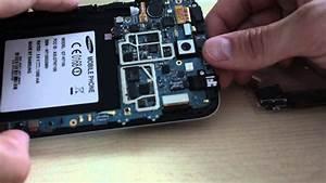 Sim Karten Slot Tauschen - Samsung Galaxy Note 2