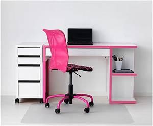 Bureau Ikea Enfant : bureau enfant ikea pour fille romantique ~ Nature-et-papiers.com Idées de Décoration